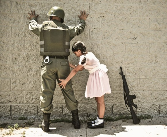 after banksy's 'girl and soldier'