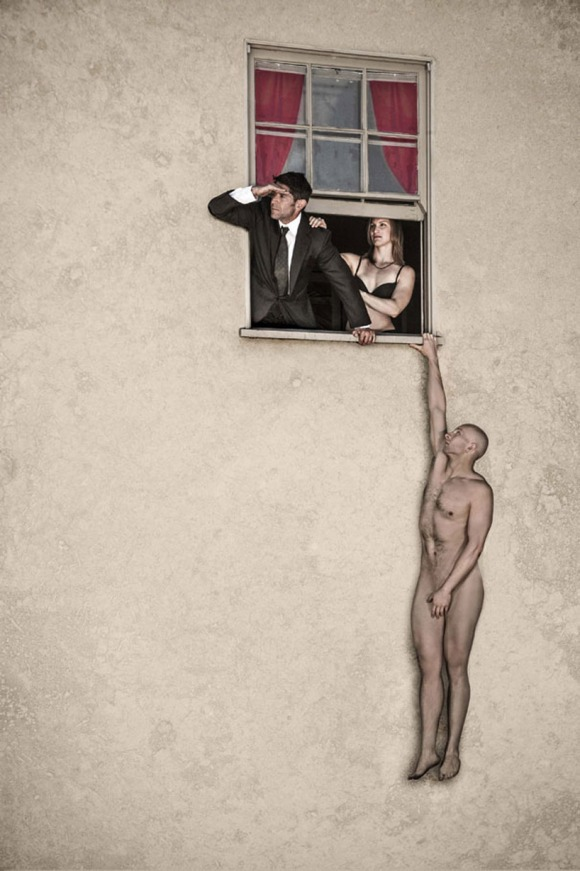 after banksy's 'naked man'
